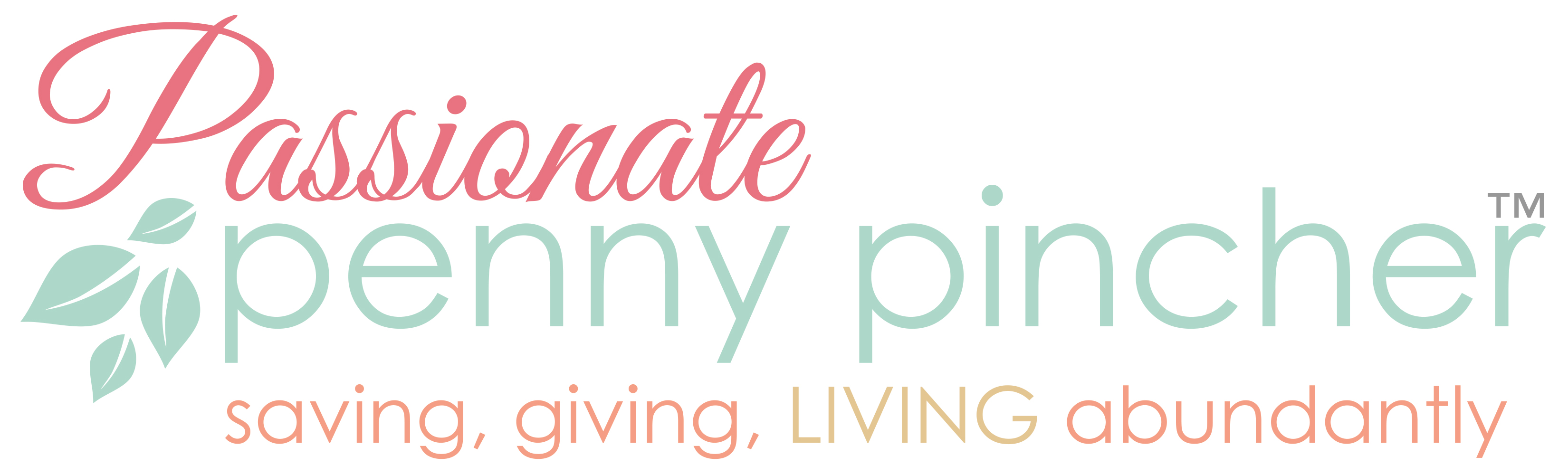Passionate Penny Pincher Logo