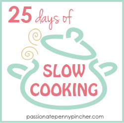 25 days of Slow Cooking Graphic