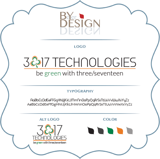3/17 Technologies Branding