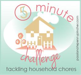 5 Minute Challenge Graphic