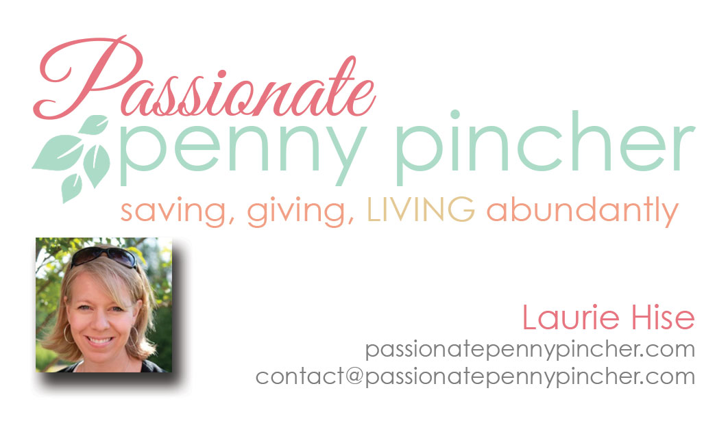Passionate Penny Pincher Business Card