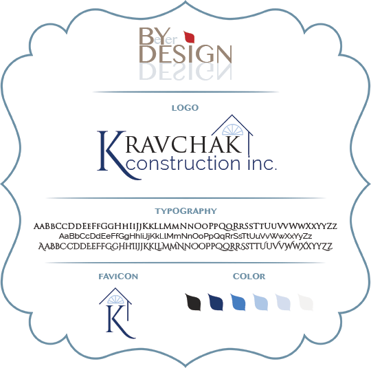 Kravchak Construction Branding