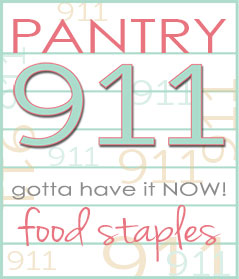 Pantry 911 Graphic
