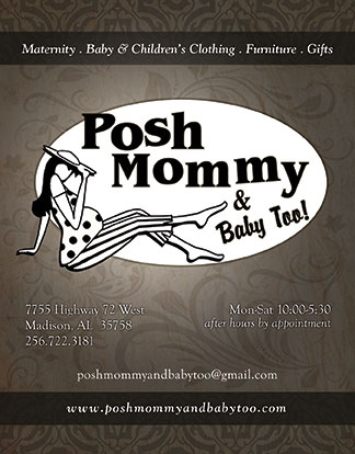 Posh Mommy Bag Tag