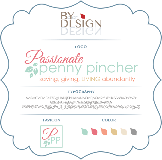 Image of Passionate Penny Pincher Branding