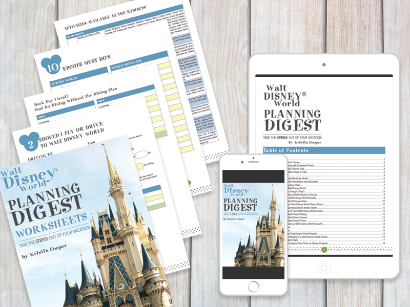 Disney Planning Digest