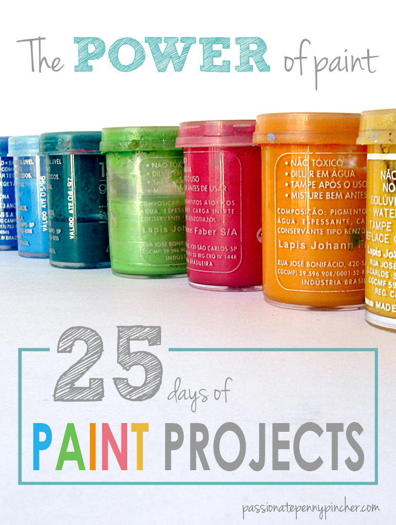 25 days of paint projects graphic