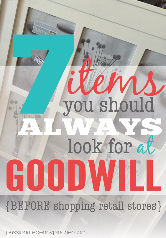 7 items you should always look for at goodwill (before shopping retail stores)