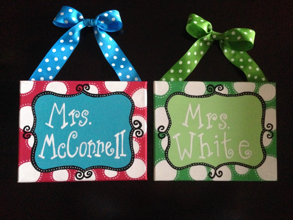 Image of Teacher Gift Canvases