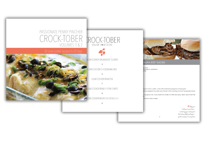 CROCK-TOBER Cookbook Cover
