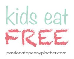 Kids Eat Free Graphic
