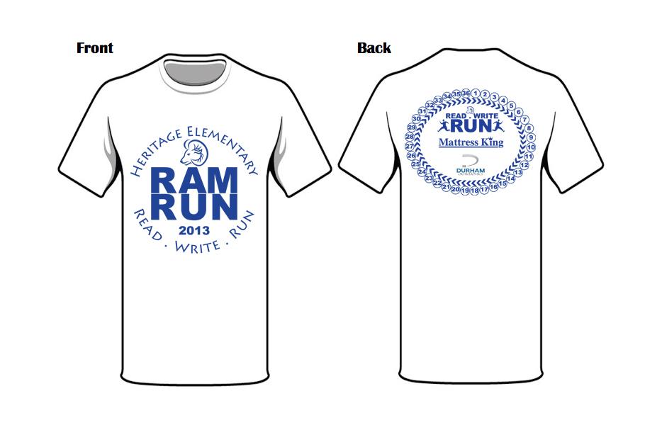 Ram Run T-shirt