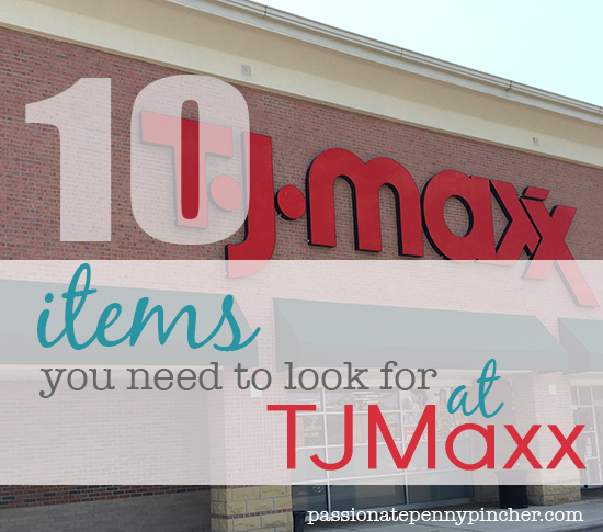 10 Items you need to look for at TJMaxx